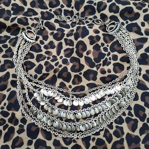 💋Layered Chains, Hand Made Silver